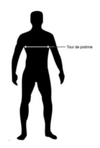 Choisir la taille de sa veste BOLID'STER à l'aide du guide des tailles