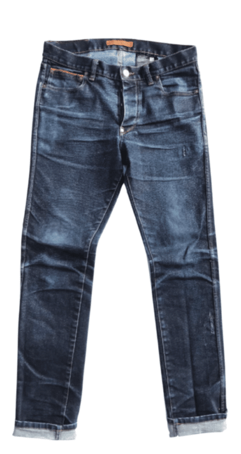 Photo d'un jean porté deux ans
