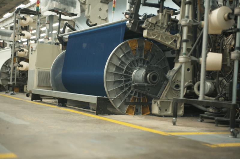 Tissage de l'ARMALITH pour la confection des jeans BOLID'STER