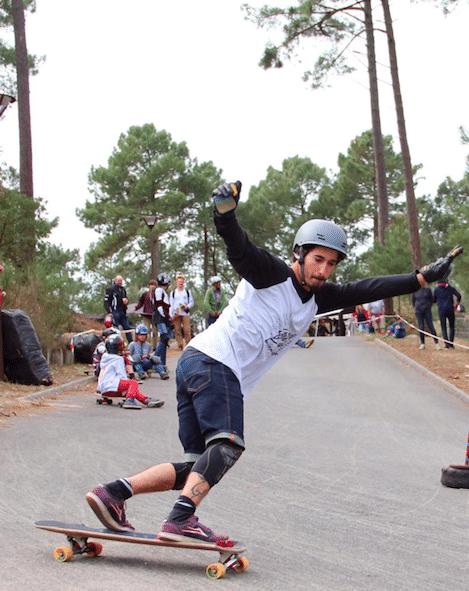 Remi Arromba skate avec le shorter